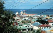 Blick über Punta Arenas, Chile
