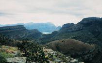 Panorama Route - Blick, Südafrika