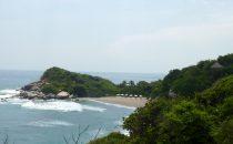 Strand im Tayrona Nationalpark, Kolumbien © Edelmann