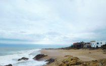 Strand bei Punta del Este, Uruguay