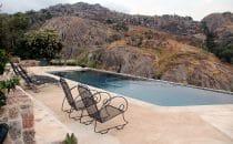 Pool mit Aussicht bei Mbabane, Swaziland