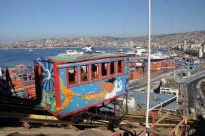 Ascensor in Valparaíso, © Sabine Single