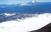 Blick vom Villarica, Chile, © Bertram Roth