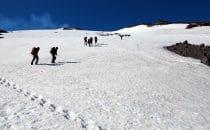 Aufstieg zum Villarica, Chile, © Bertram Roth