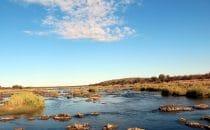Landschaft im Kruger Park, Südafrika