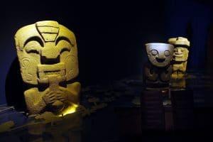 San Agustín - Museum der Stätte
