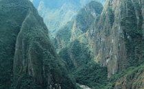 Machu Picchu - Blick ins Tal, Peru