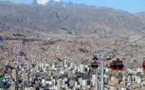 Seilbahn La Paz, Bolivien © Bertram Roth