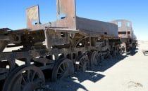 Friedhof der Züge in Uyuni © Bertram Roth
