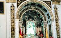 in der Basilika von Copacabana, Bolivien