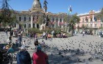 Plaza Murillo - La Paz, Bolivien © Bertram Roth