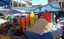 Markt in Copacabana, Bolivien