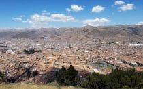 Blick über Cusco, Peru