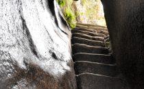 Stufen nach Huayna Picchu, Peru