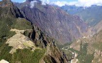 Blick vom Huayna Picchu, Peru