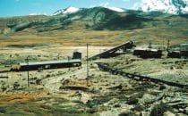 Alte Mine am Millunisee, La Paz, Bolivien