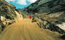 Am Zongo Pass, La Paz, Bolivien