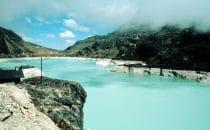 Stausee am Zongo Pass, La Paz, Bolivien