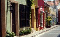Cartagena - Straße, Kolumbien