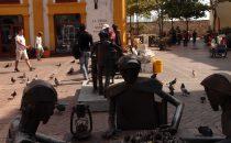 Cartagena - Plaza San Pedro Claver, Kolumbien