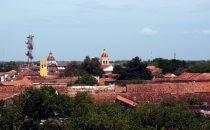 Mompox - Blick über die Stadt, Kolumbien
