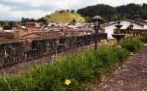 Popayán, Blick Richtung Morro de Tulcán