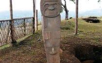 San Agustín - Steinfigur, Kolumbien