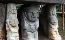 San Agustín - Grabwächter, Kolumbien