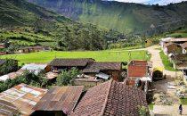 Blick über Leimebamba, Peru