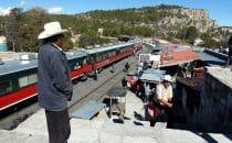 Bahnhof Divisadero, Chihuahua, Mexiko