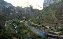 Blick aus dem Zug , Chepe, Kupfercanyon, Mexiko
