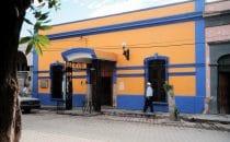 El Fuerte, Hausfassade, Mexiko