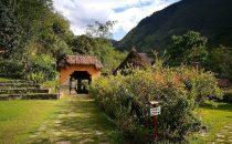 Garten des Museums von Leimebamba, Peru