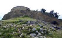 Kuélap – Stadtmauer im Süden, Peru