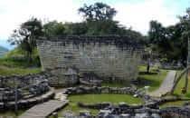 Kuélap, Sakralbezirk mit Templo Mayor, Peru