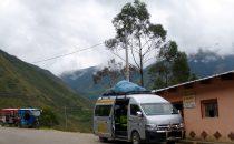 Mit dem Collectivo über die Anden, Peru