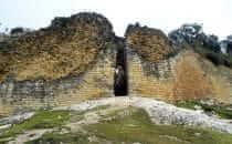 Kuélap - Eingang zur Festung, Peru