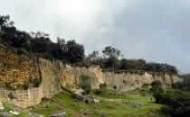 Kuélap - Festungsmauer, Peru