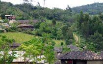 San Bartolo, Ausgangsort des Wegs nach Revash, Peru