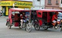 Chiclayo, Taxistand in der Nähe des Marktes, Peru