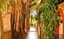 Eingang, Posada del Hidalgo, El Fuerte