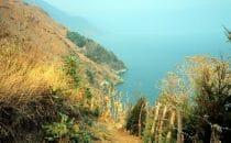 Wanderung am Atitlánsee, Guatemala