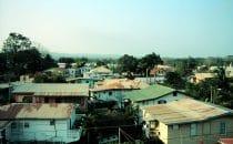 Blick über San Ignacio, Belize