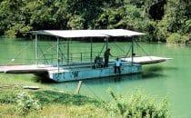 Fähre nach Xunantunich, Belize