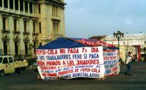 Protest gegen Pepsi, Guatemala City