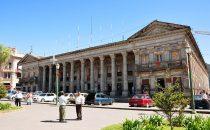 Rathaus von Quetzaltenango, Bild: chensiyuan [GFDL (http://www.gnu.org/copyleft/fdl.html) via Wikimedia Commons