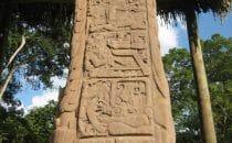 Stele D Quiriguá, Guatemala