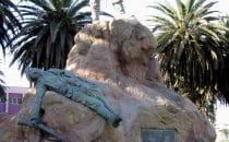 Denkmal für das Marineexpeditionskorps in Swakopmund, Bild: Freddy Weber, gemeinfrei