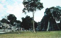Plaza in Tikal, Guatemala