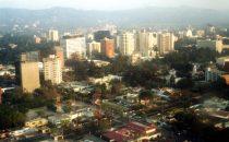 Anflug auf Guatemala City